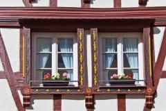 2) Wohnzimmerfenster
